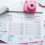לוח תכנון יומי